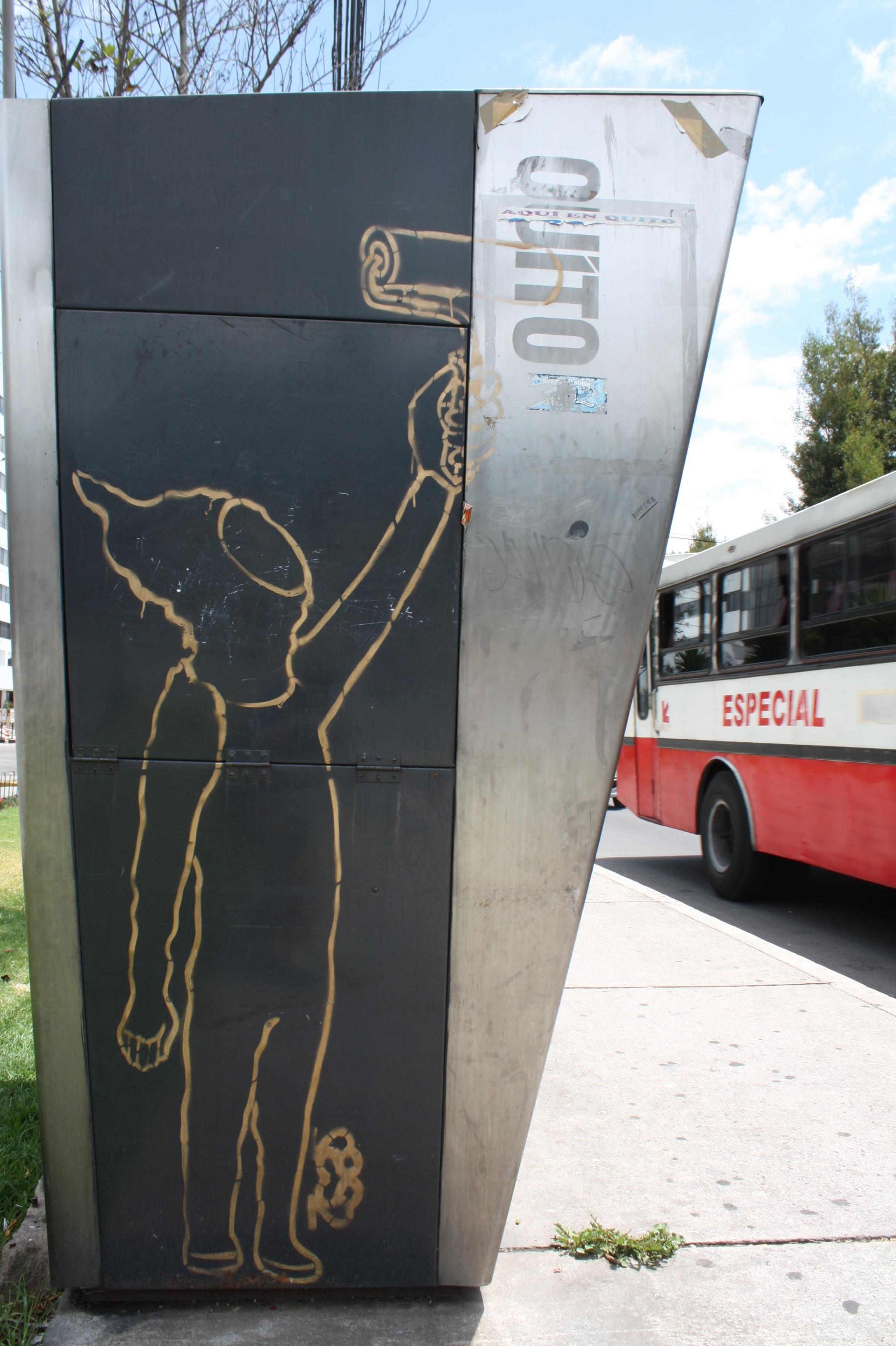 Graffiti S2, foto Andrés Ramírez