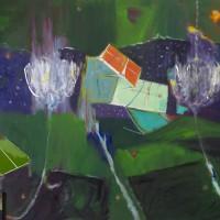 """Nocturno"", Eduardo Noboa, 140x220cm, Óleo / Lienzo, 2014"