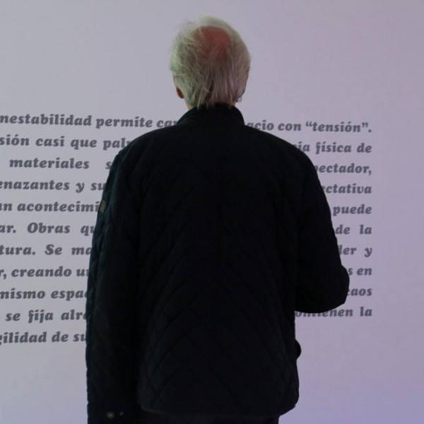 NO SABEMOS SI ES EL PRESENTE INAUGURACIÓN, PH : Paula Parrini