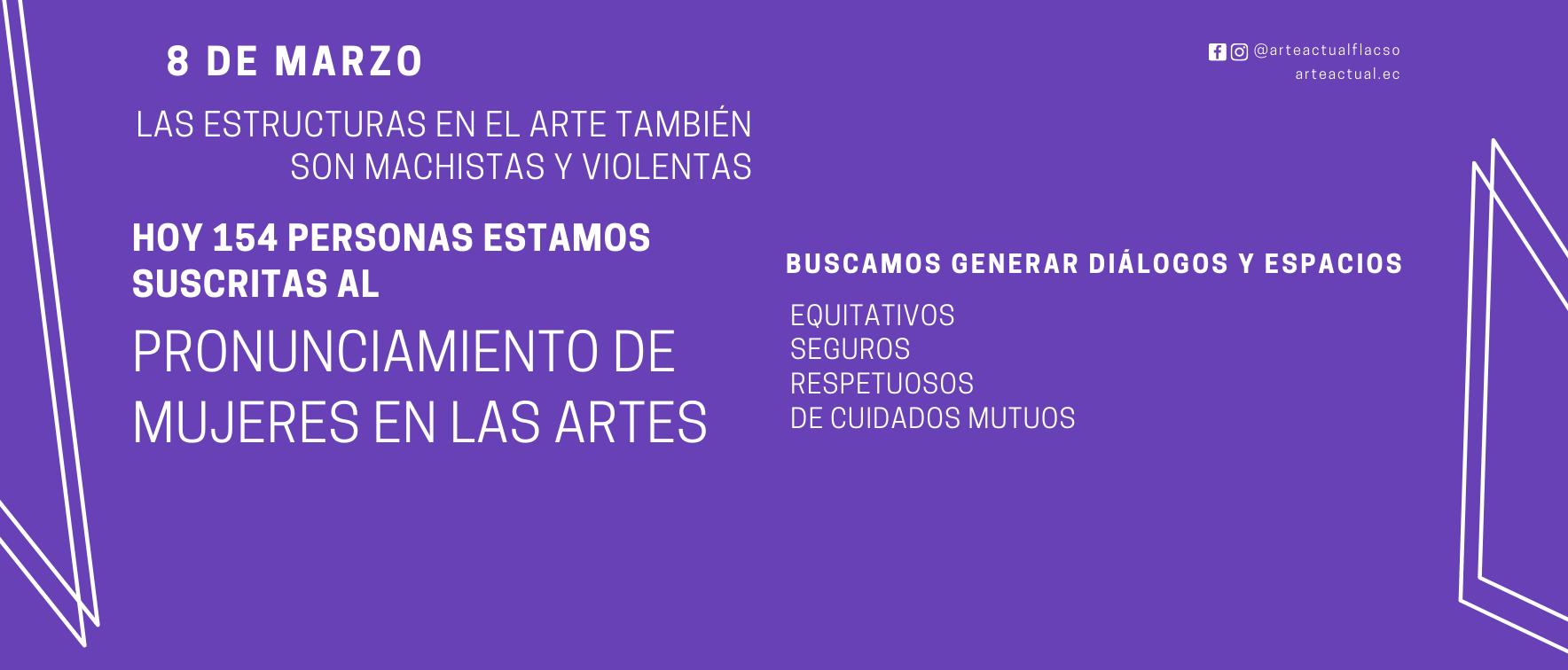 Mujeres en las Artes